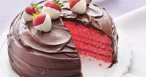 chocolate covered strawberry cake | cake recipes