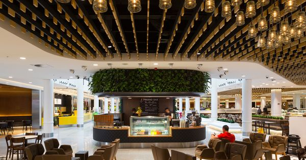 Canberra centre food court design practice cox for Architecture firms canberra