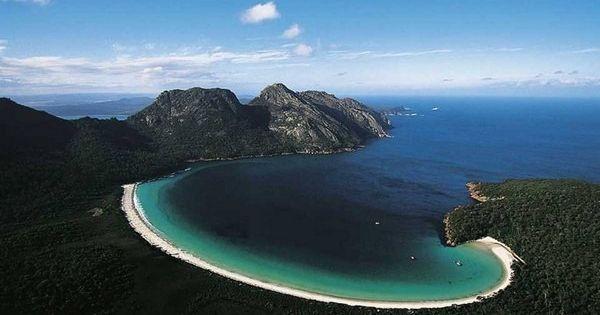 Yann Arthus-Bertrand - aerial photography Tasmania, Australia