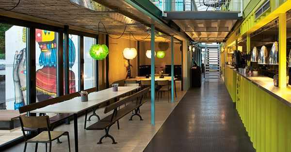 Wahaca shipping container restaurant by softroom london everything shipping container - Wahaca shipping container restaurant ...