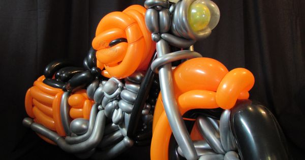 Harley Davidson Motorcycle Balloons