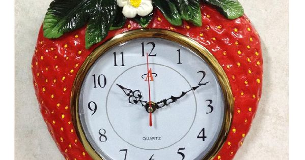 Strawberry kitchen decor theme ceramics country strawberry strawberries pinterest - Strawberry themed kitchen decor ...