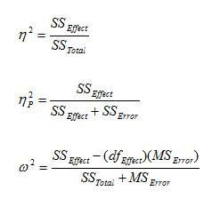 How To Calculate Effect Size From Information Provided In Spss Analysis Statistics Calculator