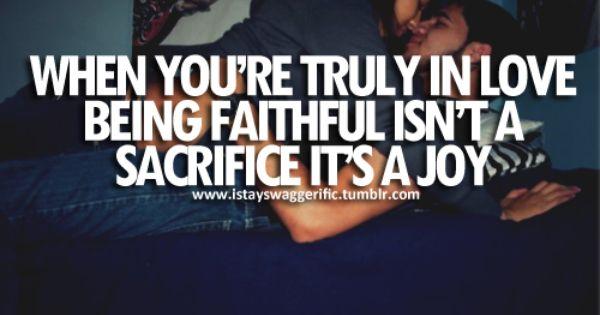 Stay faithful!!