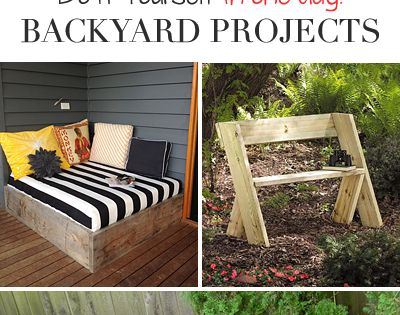 One Day Backyard Projects • Ideas & Tutorials! **We did our whole back patio with the cement paver molds pictured at the top!** backyard ideas DIY https://www.facebook.com/CollegeEscrowInc