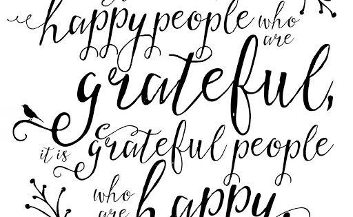 Gratitude Chalk Art A Free Printable Version Gratitude Quotes