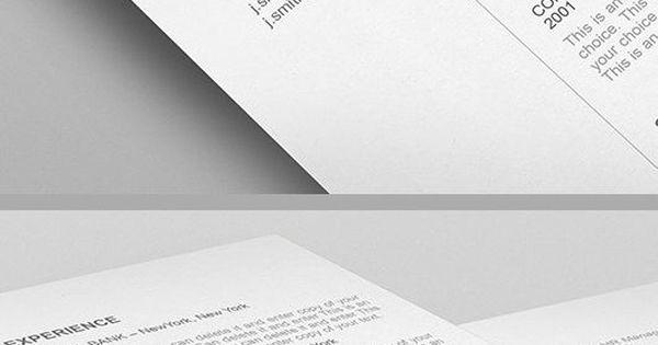 Elegant Resume Template - 110540 - Premium line of Resume Cover - easy resumes