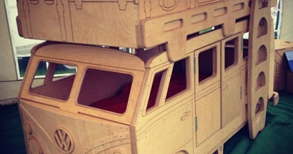 Bus Bunk Bed Cnc Beds Http Cnc Gallery Игрушки