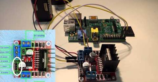 Raspberry Pi How To Control Motors Youtube