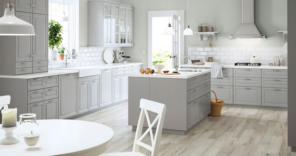 Perfect Ikea Bodnyn grau k cheninsel Inspirasjon til huset Pinterest Graue k cheninsel K cheninsel und Ikea