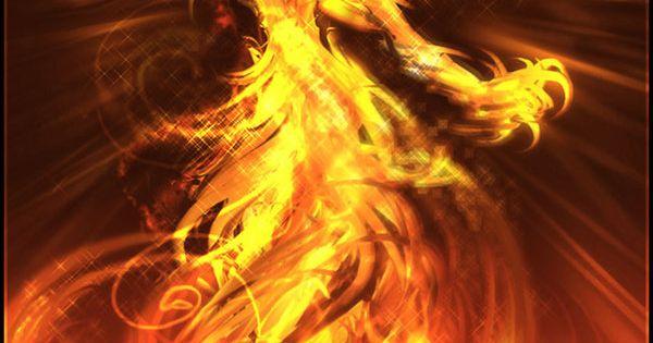 18 Phoenix Artworks : The Flaming Bird | Design Inspiration | PSD