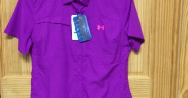 Women 39 S Under Armour Offshore Heat Gear Purple Short