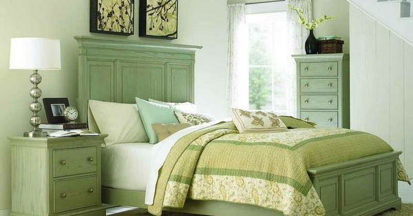 Sage Green Bedrooms With Rustic Color For The Home