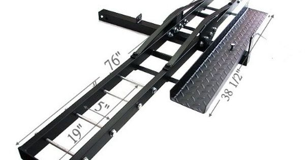 500 Lb Heavy Duty Motorcycle Dirt Bike Scooter Carrier Hitch Rack