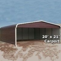 18x31 Utility Carport With Vertical Roof Modern Roofing Roof Architecture Pergola Plans