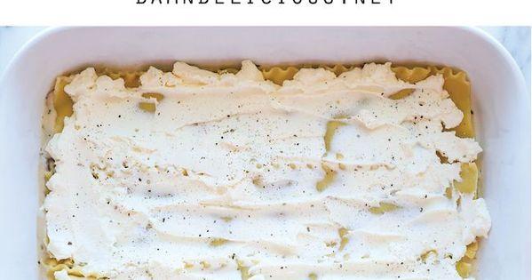 Creamy Spinach and Mushroom Lasagna | Recipe | Spinach ...