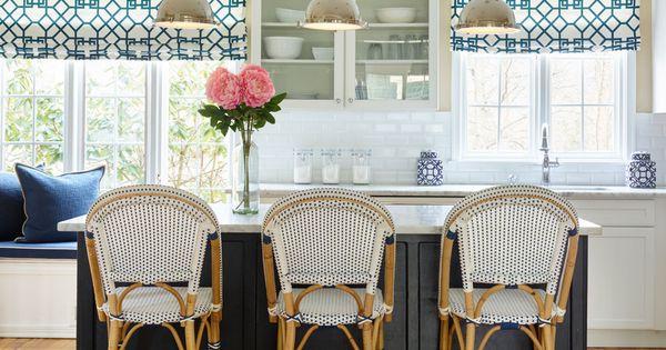 Blue White And Black Kitchen White Kitchen Renovation