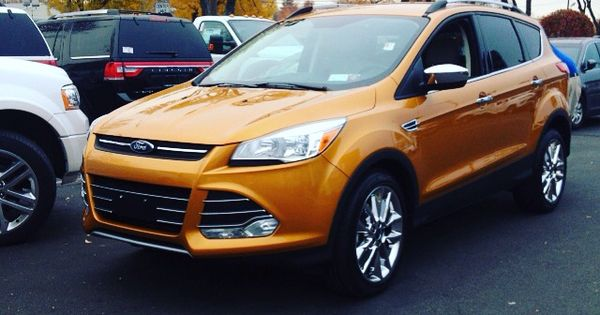 love this electric spice color on this 2016 ford escape. Black Bedroom Furniture Sets. Home Design Ideas