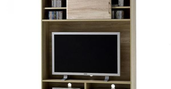 tv schrank sonoma eiche nachbildung wohnzimmer tv kommode tv tisch ablage tvs led und ebay. Black Bedroom Furniture Sets. Home Design Ideas