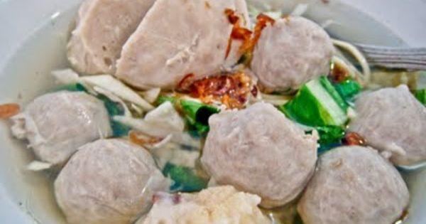 Resep Bakso Sapi Kenyal Resep Resep Masakan Indonesia Resep Bakso