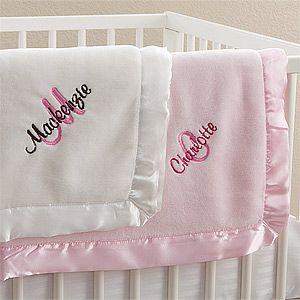 Unicorn Embroidered Baby Girl Gift Set Personalized Baby Girl Embroidered Gift 3 Piece