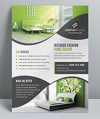Interior Design Flyer Flyer Design Pamphlet Design Flyer