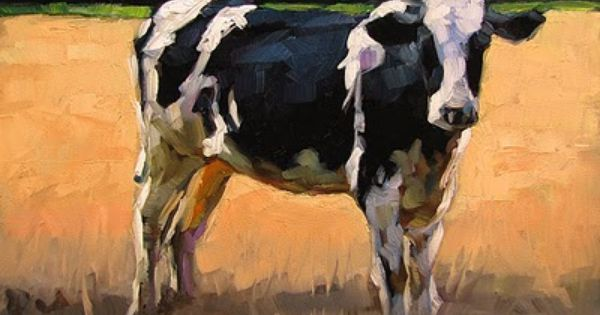 Cow Painting On Property Brothers