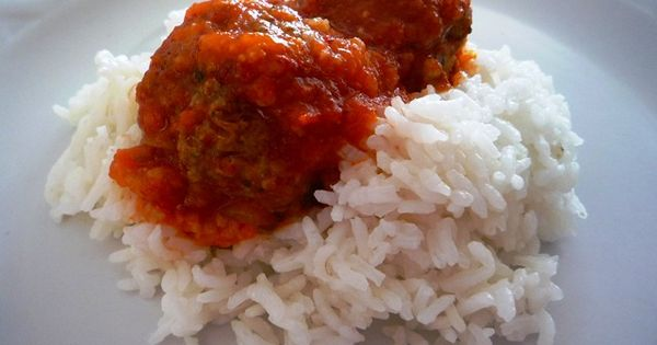 Meatballs Mexicana And Rice Recipe — Dishmaps