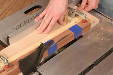 How To Make A Table Saw Taper Jig Taper Jig Make A Table Table Saw