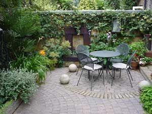Garden Design With Shady Courtyard Shoot