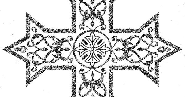 pointilism coptic cross by camel007 via flickr great tattoos pinterest by and crosses. Black Bedroom Furniture Sets. Home Design Ideas