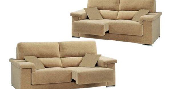 Sof tres y dos plazas con asientos deslizantes sofas for Sofa 4 plazas asientos deslizantes