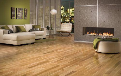 Hardwood Flooring In A Modern Living Room Beautiful