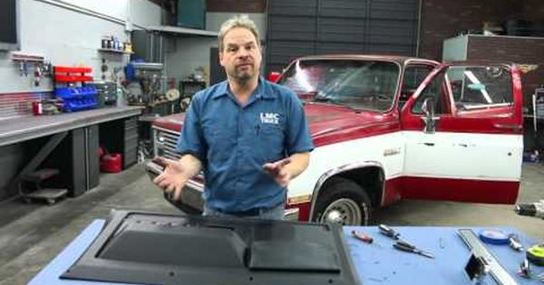 418 Lmc Truck 1981 87 Chevy Gmc Truck Door Panel Installation With Kevin Tetz Youtube Lmc Truck Gmc Gmc Truck