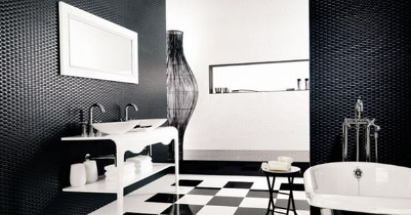 modern black and white floor tiles b q and black and white bathroom