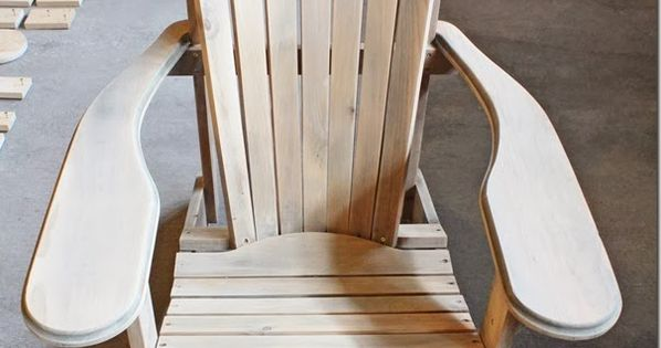 how to make an adirondack chair adirondack chairs how. Black Bedroom Furniture Sets. Home Design Ideas