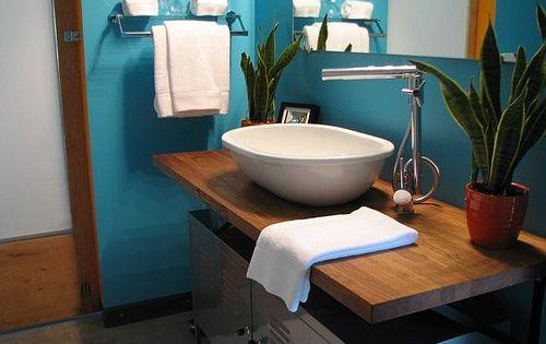 16 ideas para decorar tu ba o de visita peque o mi house for Diseno de banos de visita pequenos