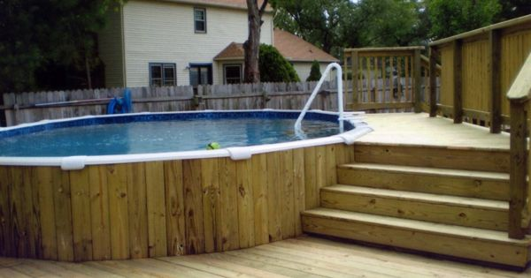 petite piscine hors sol en bois deck mick pinterest decking and jacuzzi. Black Bedroom Furniture Sets. Home Design Ideas