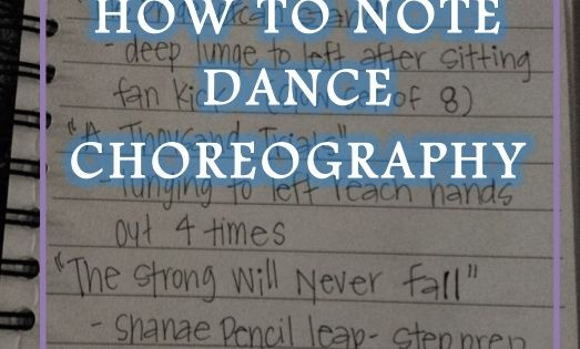 The choreographic process