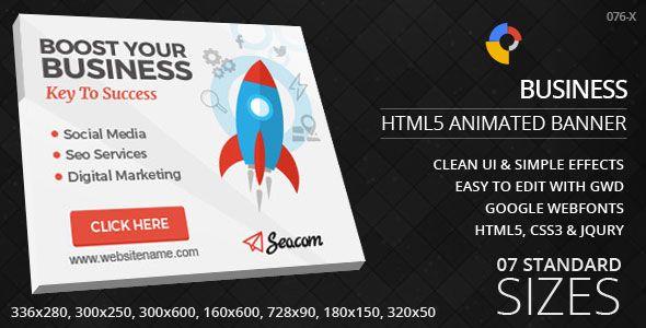 Digital Marketing Html5 Ad Banners Digital Marketing Marketing Web Design