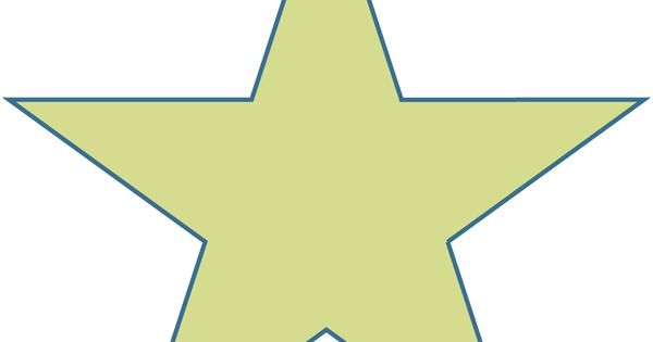 Free Large Printable Star Shapes