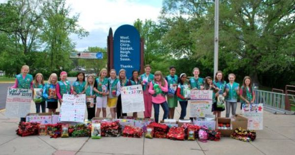 Earlier This Month Girl Scout Juniors In Troop 12771 Of Plymouth Mn Made Their Second Girl Scout Silver Award Girl Scout Activities Bronze Award Girl Scouts