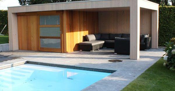 Poolhouse de jardin maison bois un abri de jardin haut de gamme poolhouse moderne maisons - Abri de jardin pool house ...