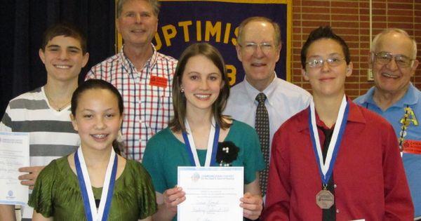 Optimist club international essay contest