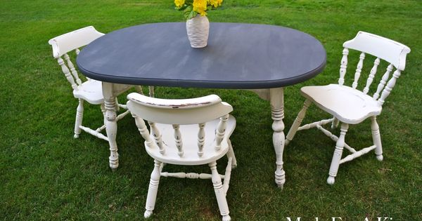 Shabby Chic Dining Table Chairs DIY Home Decor Ideas Pi