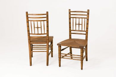 Bausman William Morris Side Chair 3324 Side Chairs Dining Side