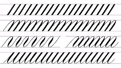 Calligraphy alphabet, Calligraphy and Writing exercises on Pinterest