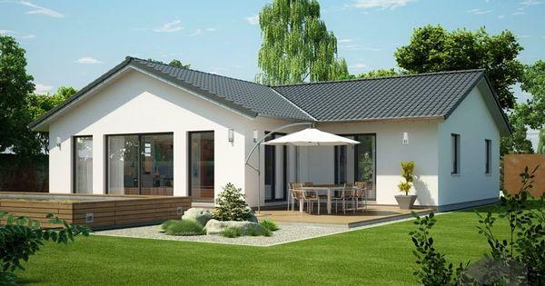 icon winkelbungalow von dennert massivhaus wohnfl che. Black Bedroom Furniture Sets. Home Design Ideas