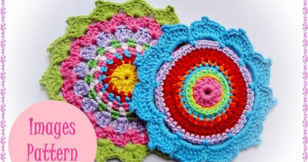 Crochet X And O Pattern : Rosettes Crochet Pattern Couple The ojays, Couple and Mandalas