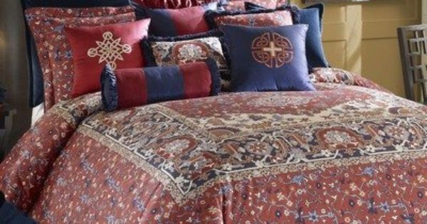 Kashmir Comforter Set Size Queen By Rose Tree Linens